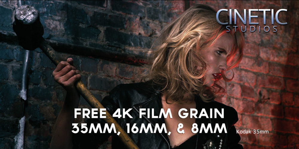 A sample of the Kodak 35mm Film Grain over a REDlogfilm footage, footage courtesy of Jarred Land
