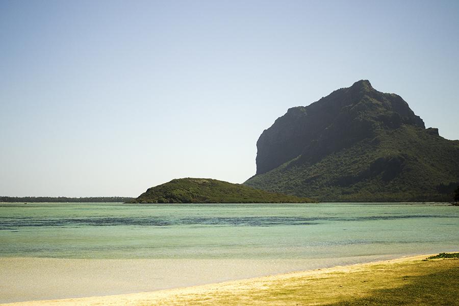 A public beach along the southwest coast