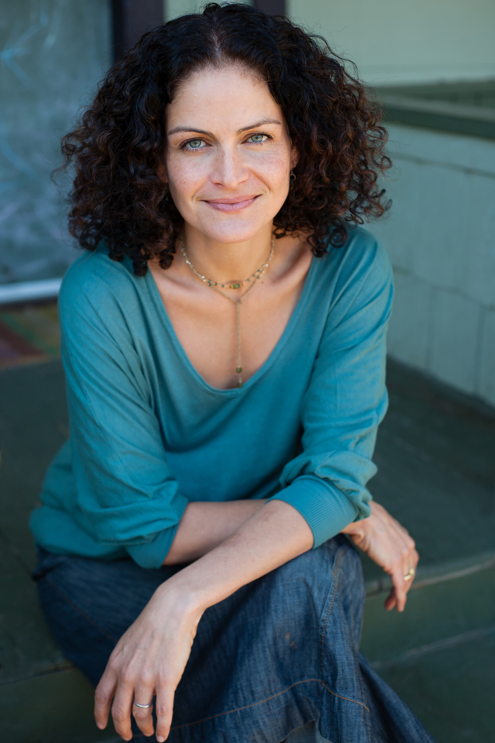 August 9, 2015      Hala Khoury, M.A., E-Ryt,  has been teaching yoga and the movement arts for over 20 years.  She earned her B.A. in Psychology from Columbia University and her M.A. in Counseling Psychology from Pacifica Graduate Institute.  She is trained in Somatic Experiencing, a body-based psychotherapy that addresses trauma and its symptoms.  Hala is a co-founder of Off the Mat, Into the World, a training organization that bridges yoga and activism within a social justice framework.  She leads trauma informed yoga training nationally.  She has been in private practice for 10 years working with individuals and couples.  Hala also trains direct service providers in vicarious trauma and self-care.  She lives in Venice, CA with her husband and two sons where she also teaches public yoga classes weekly.  Hala is Lebanese, and her husband is half African American, and half Jewish.  She is passionate about engaging in dialogues about race, culture, and class; and is always in inquiry around how to raise children who are aware of the larger context that they live in.