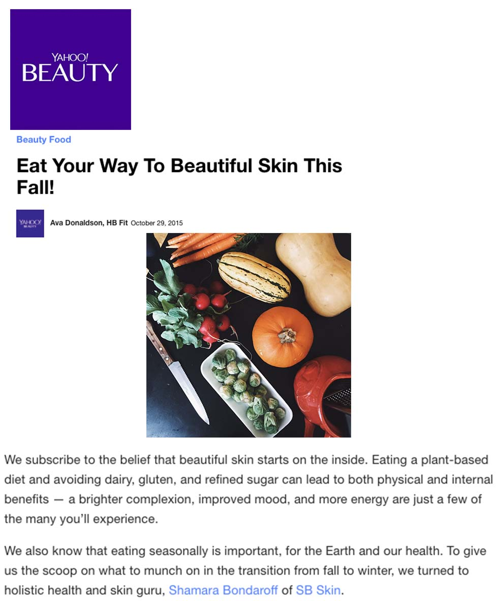 Yahoo Beauty | October 29, 2015