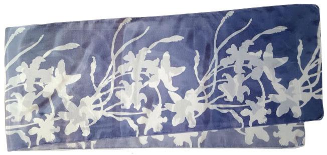 Lilies steel blue