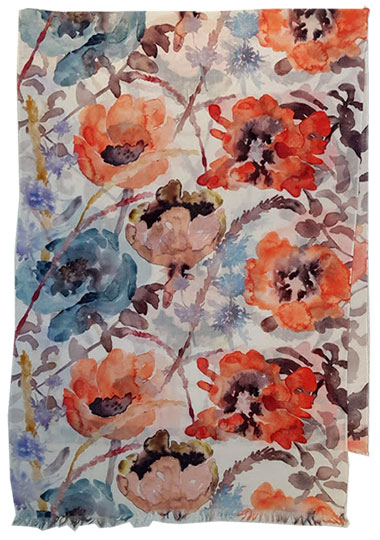 wc1. Watercolor Poppies