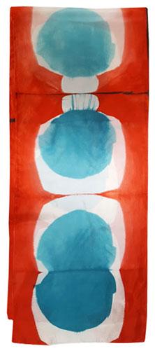 21. Shibori Shapes red blue
