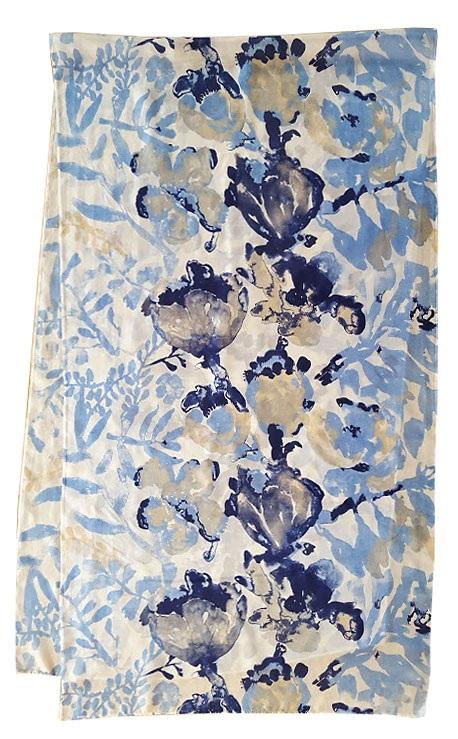 2. Watercolor Floral blues