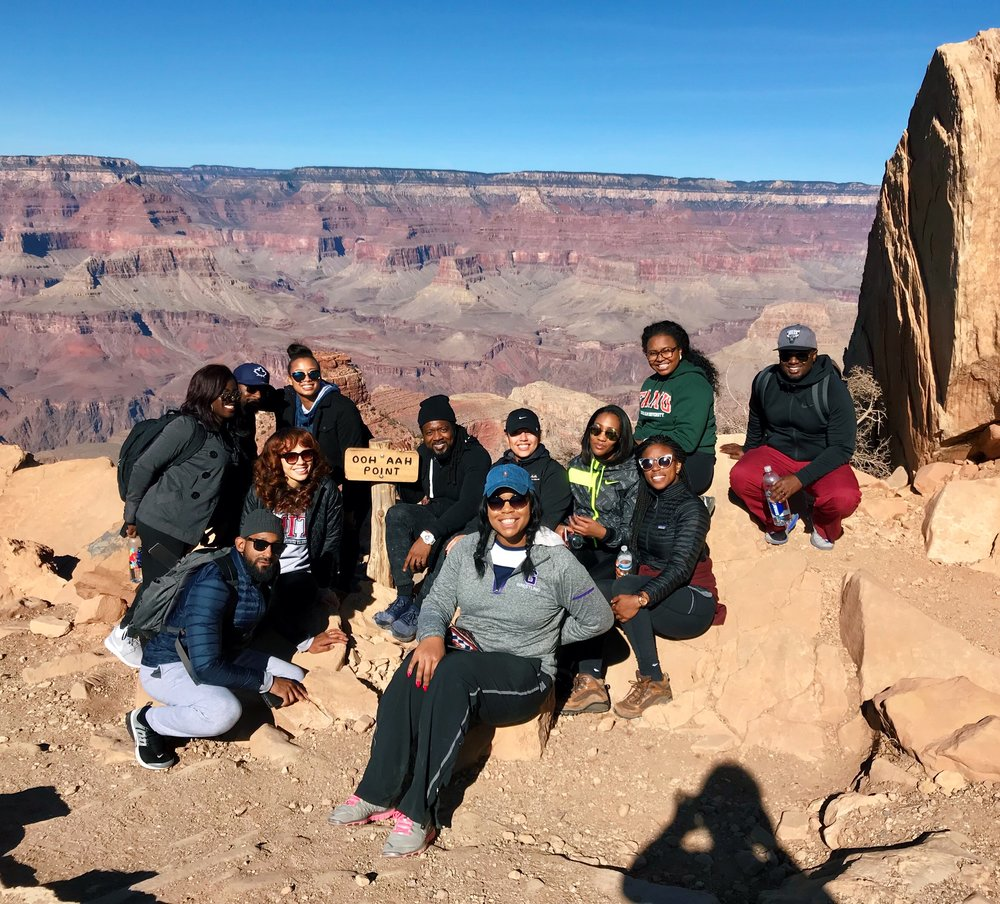Hiked the South Kaibab trail to ooh ahh point with my closest family and friends