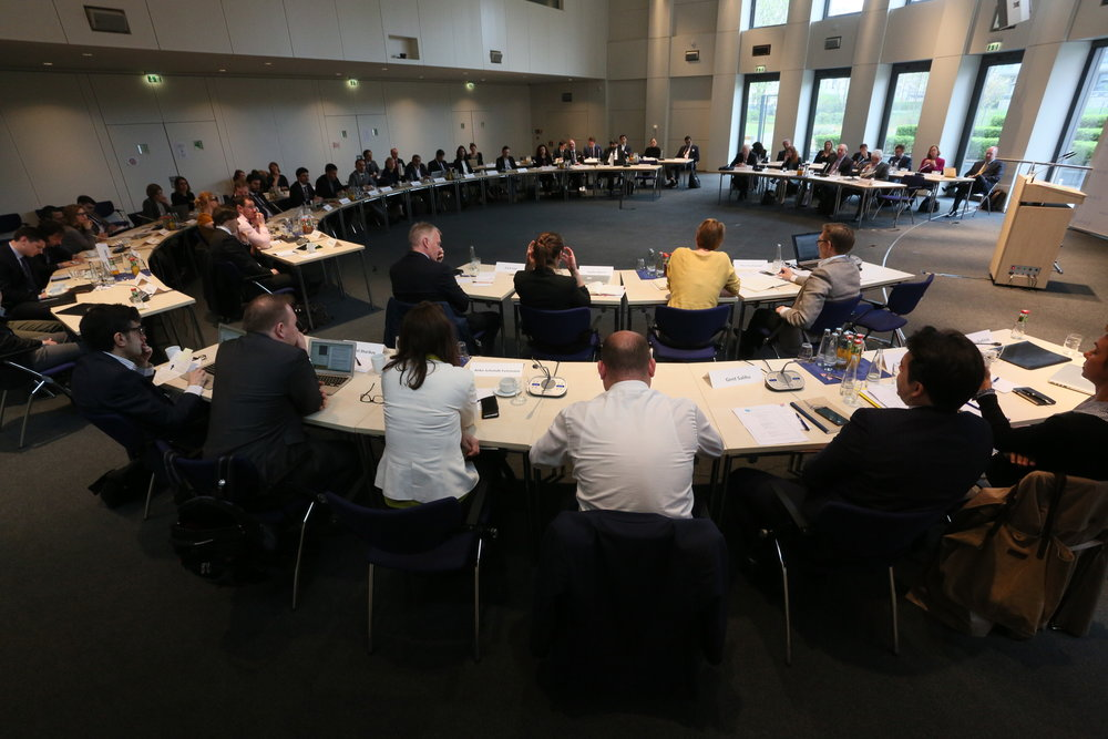 The 3-day meeting consisted of panel discussions and working group sessions on Euro-atlantic security topics
