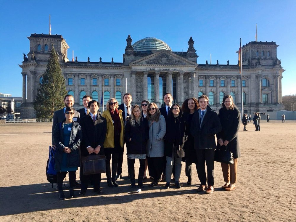 touring the chancellery in Berlin, The heart of the german government