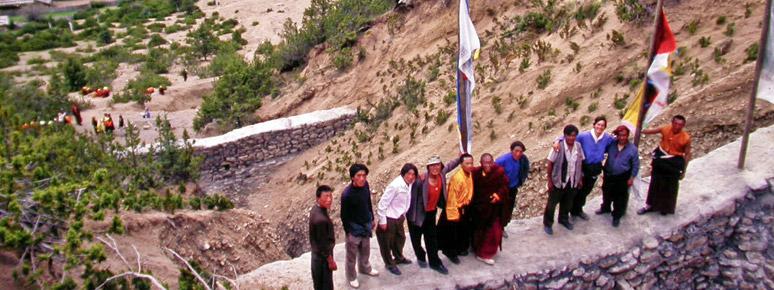 Monastery Mudslide Control