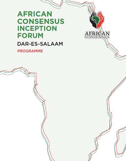 African Consensus Inception Forum