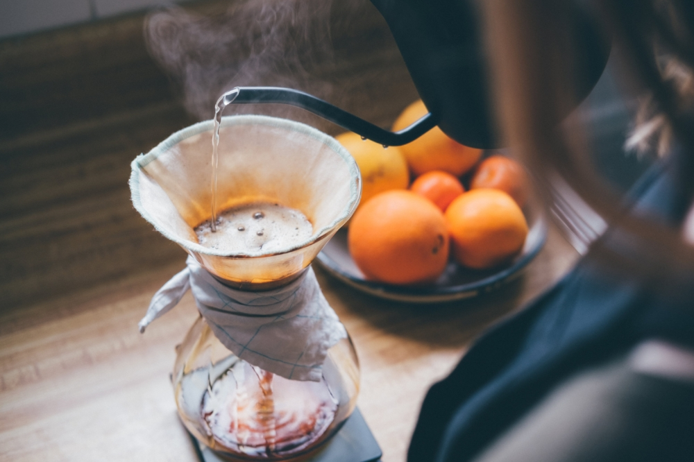 brew guide - for Chemex