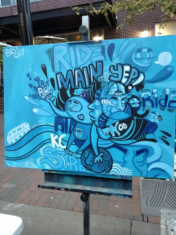 thanks a million kc live painting image 3