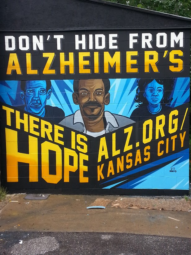 Alzheimers Awareness, 39th & Troup, KCMO, 2016
