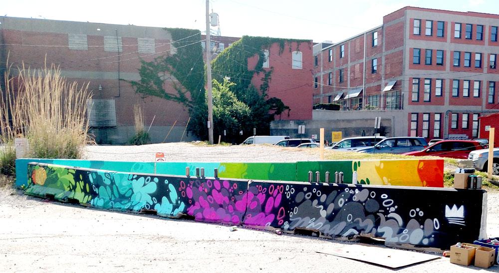 barricade mural 5