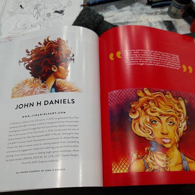 featured in create magazine