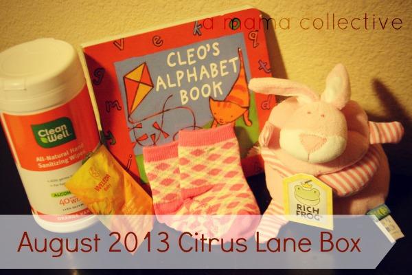 august 2013 citrus lane