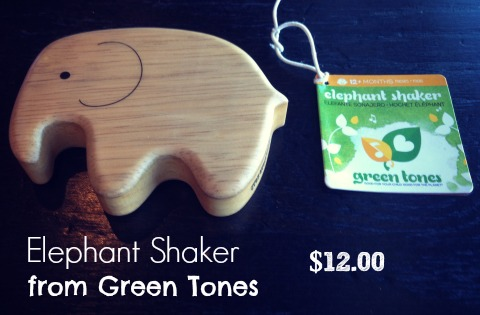 Elephant Shaker from Green Tones