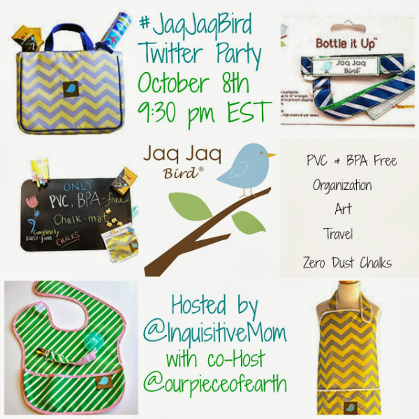 Jaq Jaq Bird Twitter Party