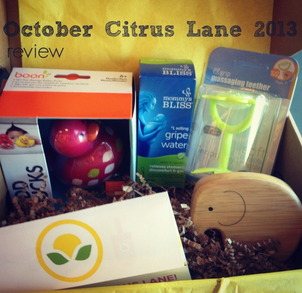 October Citrus Lane 2013 Review