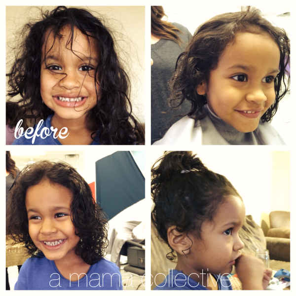 Lia's First Haircut - A Mama Collective