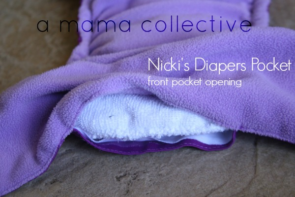 Nicki's Diapers Front Pocket