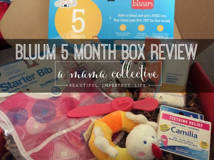 5 month box