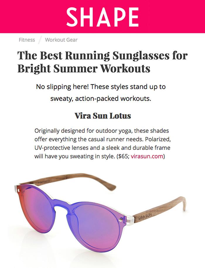 Vira Sun Featured in Shape Magazine