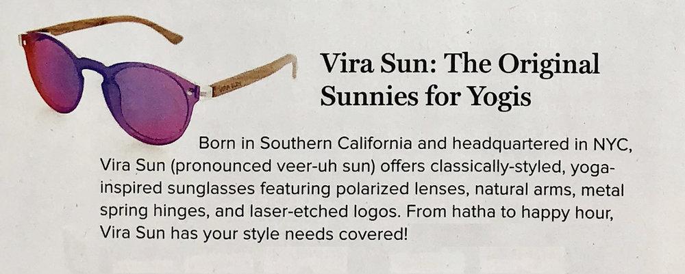 Vira Sun x Yoga Journal