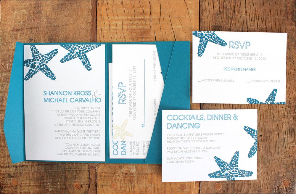Beach Wedding Simple Invite.jpg