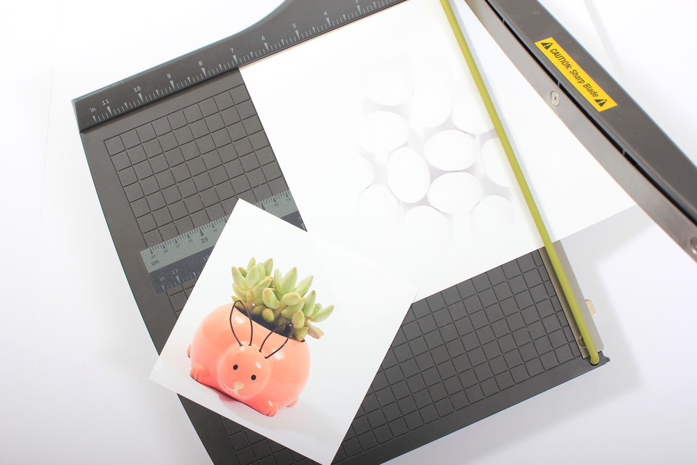 DIY Easter Cards Cut Step