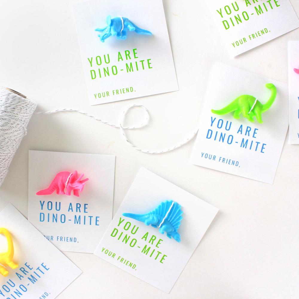 Dino-mite Valentine Day Card