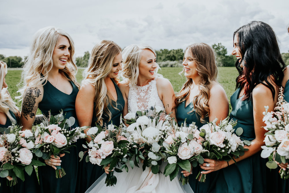 Taylor & Wyatt | Rustic Walla Walla Wedding with Protea's | Alex Lasota Photography