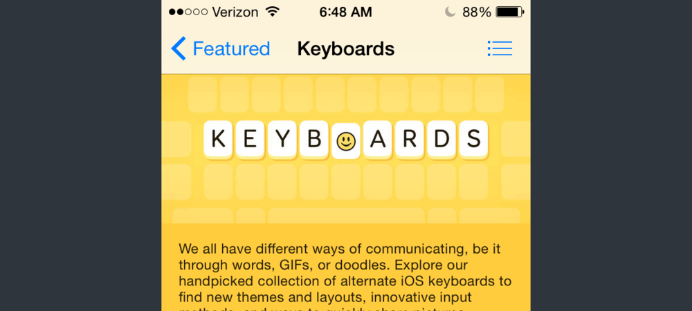 It tells us a lot that illustrated advertisements for keyboard themes on the App Store better convey their ability to be pressed than Apple's UI keyboard does.