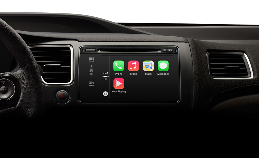 One can find operating systems like iOS powering car dashboard UIs.