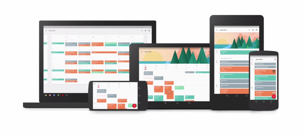 Google uses responsive techniques so that their interfaces can adapt to a variety of form factors in their Material Design framework.