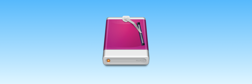 CleanMyDrive icon by Pavlo Grozian of MacPaw (2012).