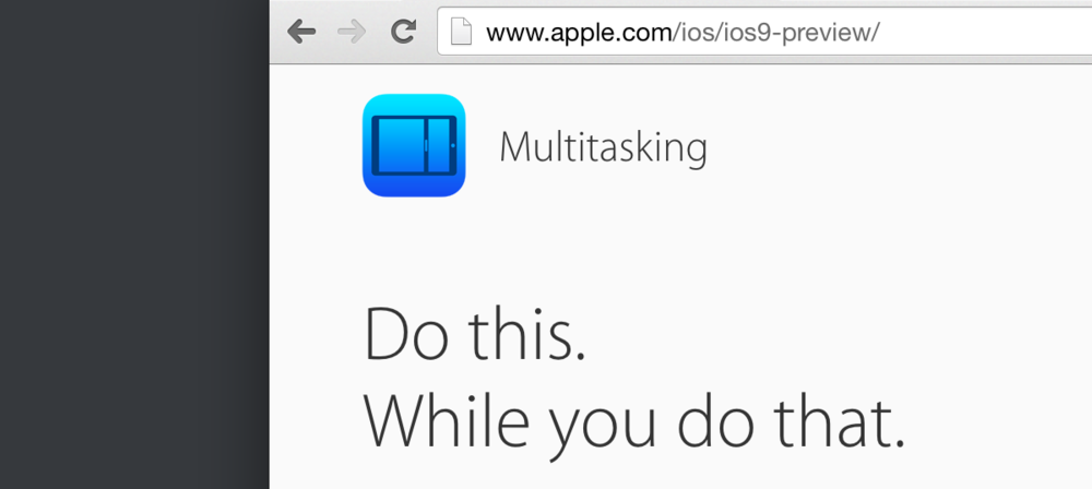 Apple's crack copywriting team is still alive and kicking.