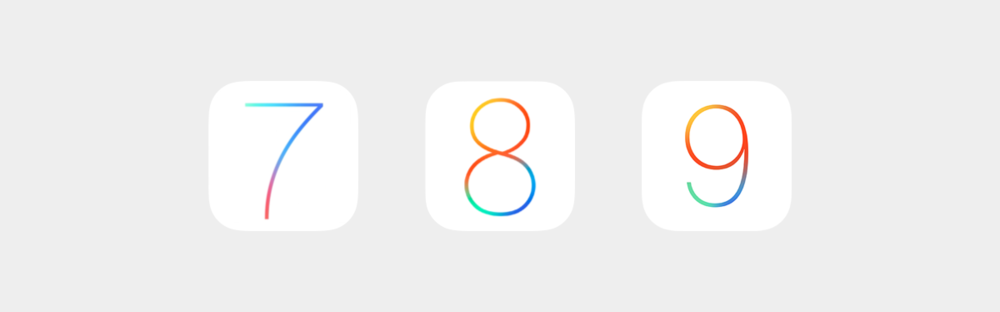 Apple has apparently given up on creating a new tie-dye pattern for each iOS release.