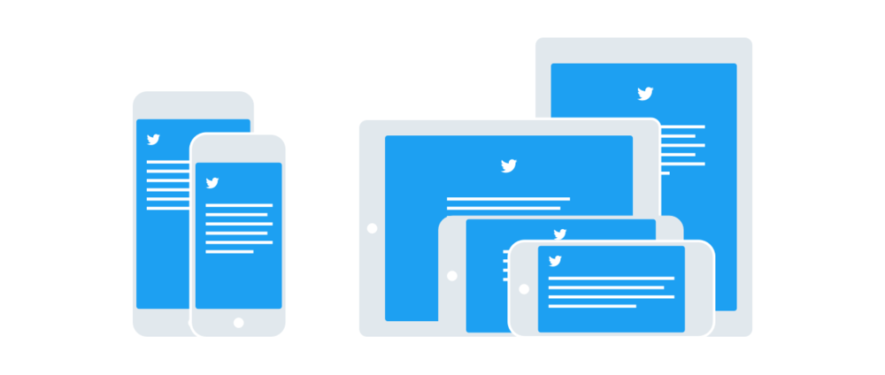 How Twitter idealized their responsive iPad update.