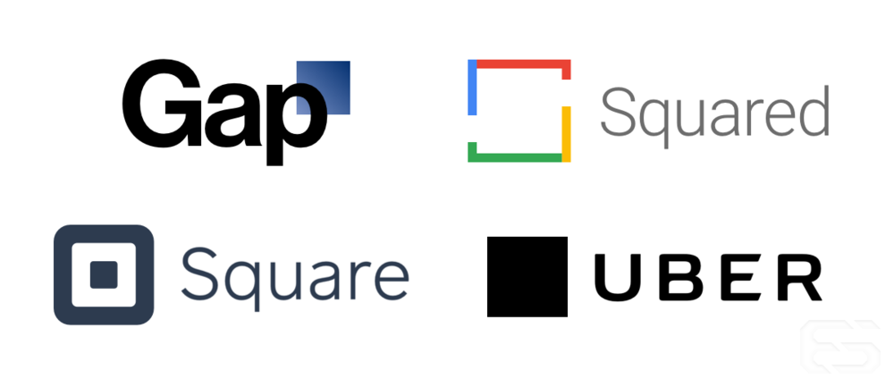 Of all the brands based on squares, Uber's is the most exciting.