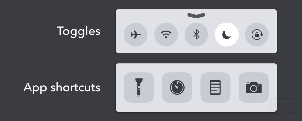 The current Control Center.