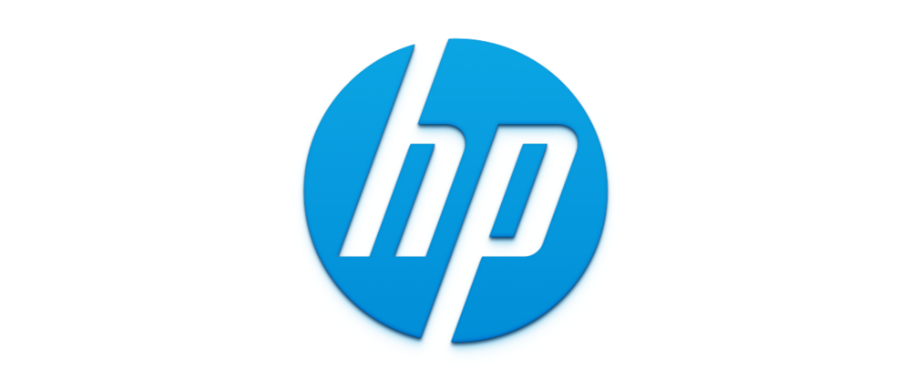 The previous HP logo.
