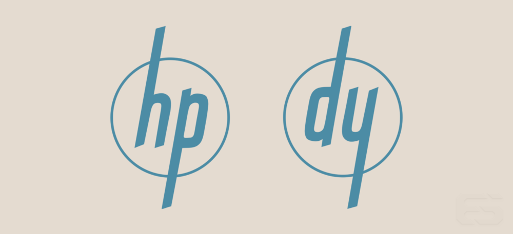 The HP and Dynac/Dymec logos.
