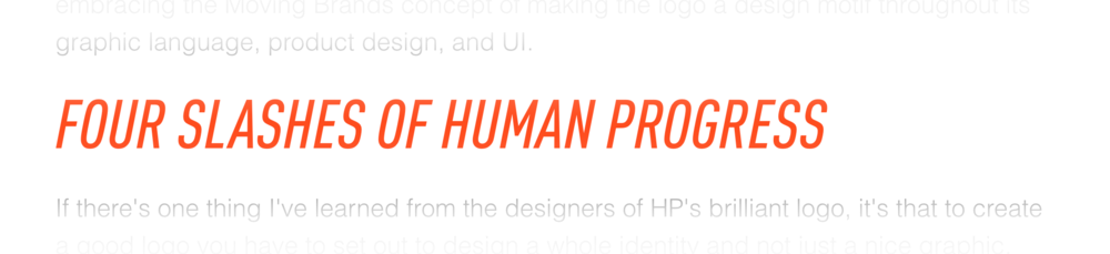 The Verge littered their review with HP slogans–as is the standard.