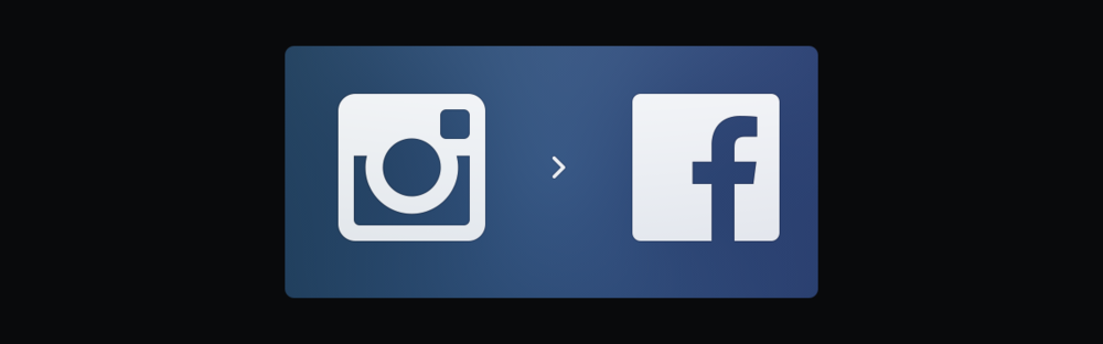 Instagram joined Facebook in 2012.