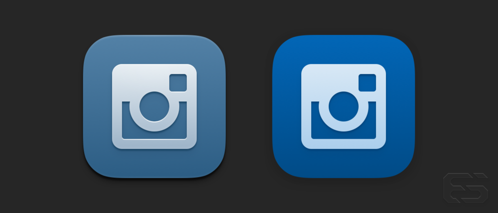 Here are some variants I drew of the icon using the previous glyph and brand colors from the app.