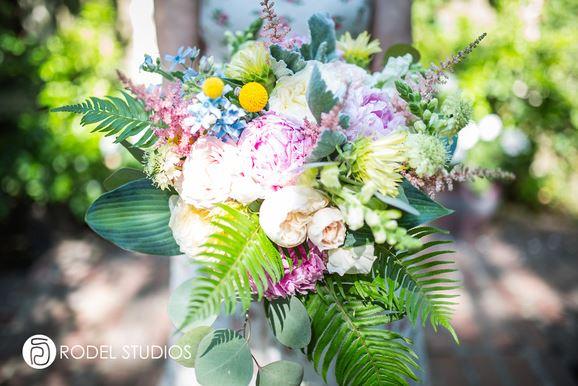 Bouquet | Garden | Wedding | Bridal | Corson Building | Seattle | Rodel Studios | Sublime Stems