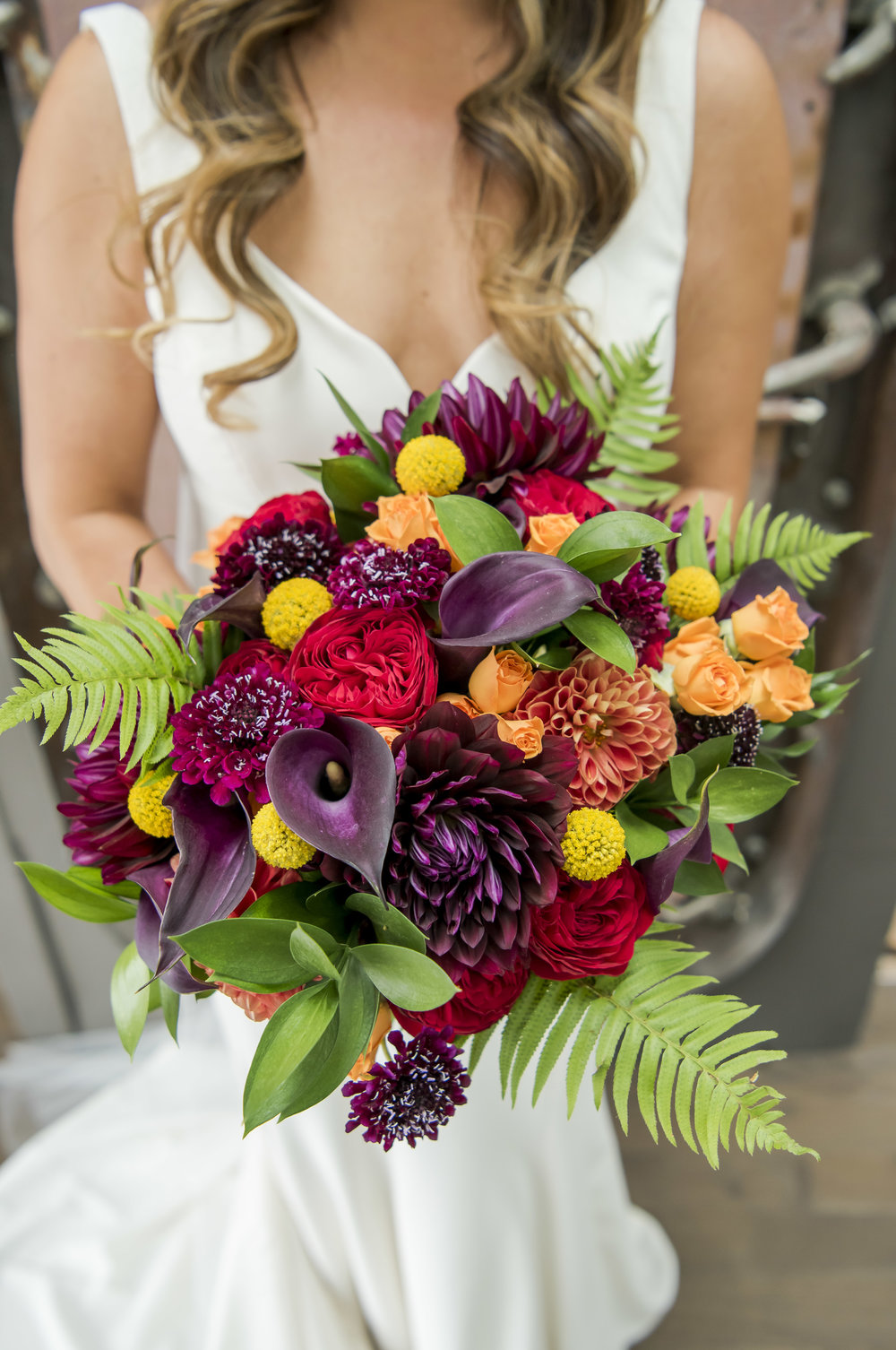Floral | Summer | Wedding | Romantic | Jewel Tones | Bold | Fremont Foundry | Christopher Gendron Photography | Sublime Stems