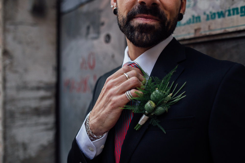 Sublime Stems | Styled Shoot | Dapper Couple | Gathered Creatives | Beginning & End Photography