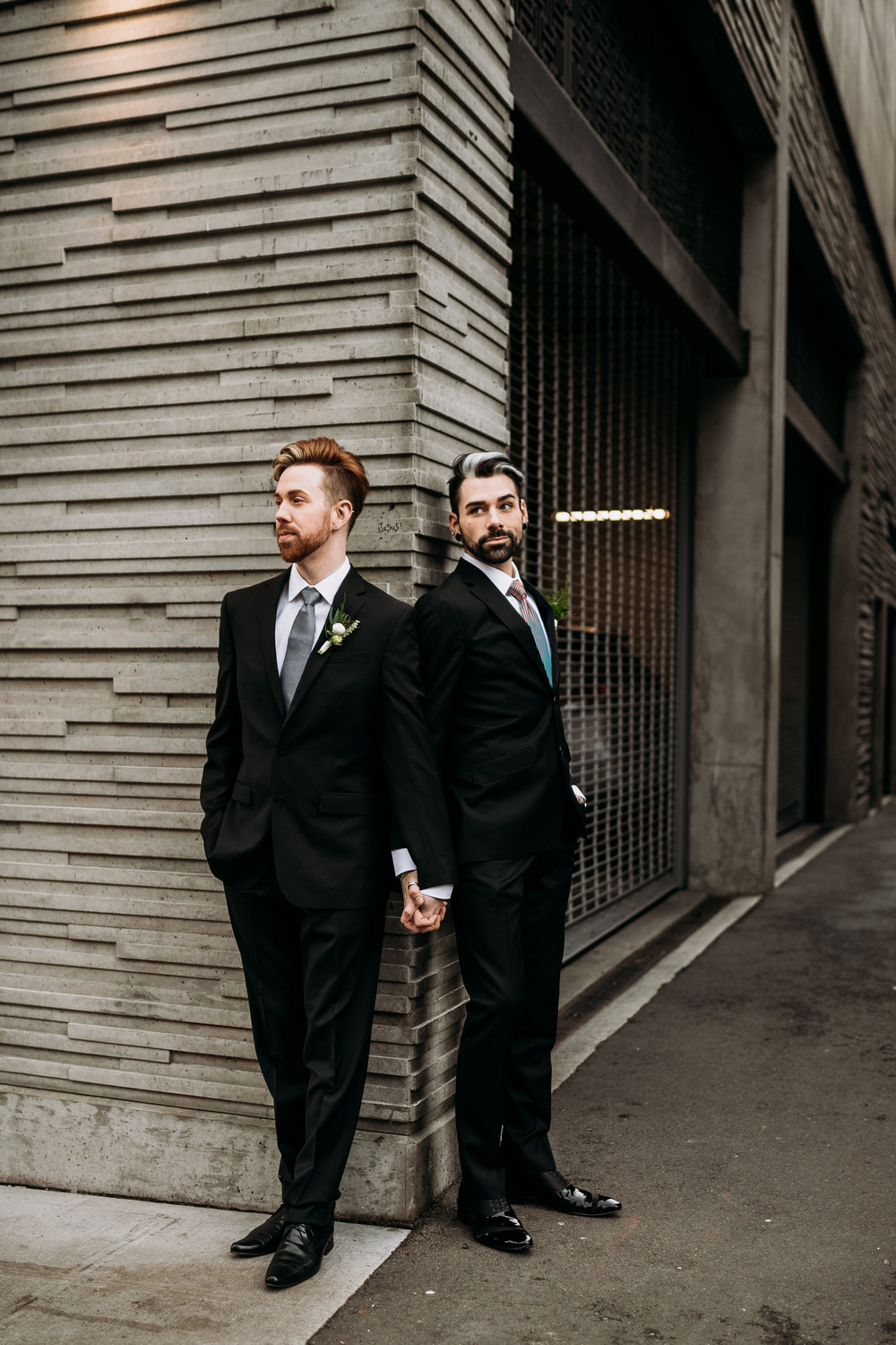 Sublime Stems | Dapper Couple | Seattle | The Gathered Creatives | Silent Light Studios