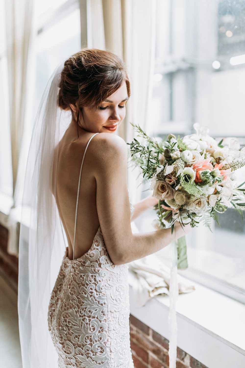 Sublime Stems | Bridal | Seattle | The Gathered Creatives | Silent Light Studios